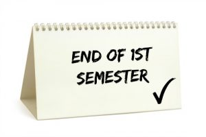 End of 1st Semester